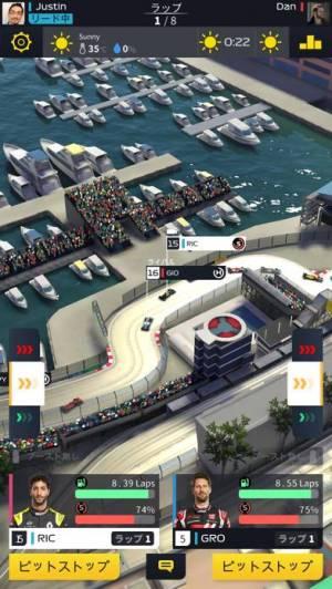 iPhone、iPadアプリ「F1 Manager」のスクリーンショット 1枚目