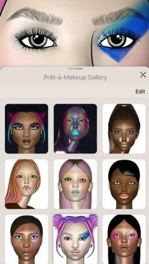 iPhone、iPadアプリ「Prêt-à-Makeup」のスクリーンショット 5枚目