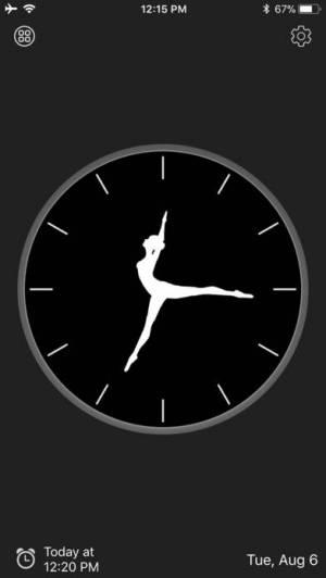 iPhone、iPadアプリ「アナログ時計 - 時計ウィジェット,目覚まし時計」のスクリーンショット 3枚目