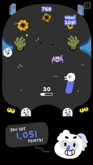 iPhone、iPadアプリ「Graveyard Smash」のスクリーンショット 1枚目