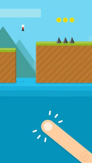 iPhone、iPadアプリ「Mr Jump World」のスクリーンショット 1枚目