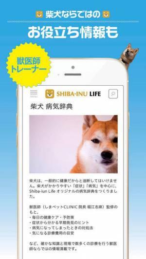 iPhone、iPadアプリ「柴犬ライフ:100%柴犬情報メディア」のスクリーンショット 4枚目
