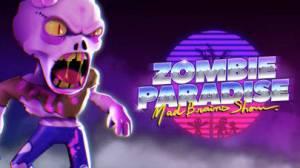iPhone、iPadアプリ「Zombie Paradise - Mad Brains」のスクリーンショット 1枚目