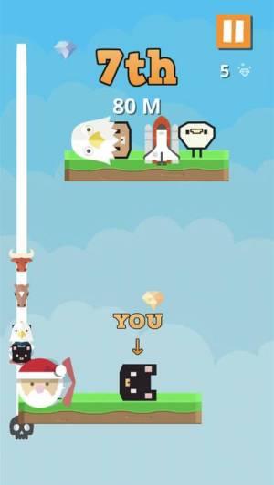 iPhone、iPadアプリ「Bump Jump Race」のスクリーンショット 2枚目