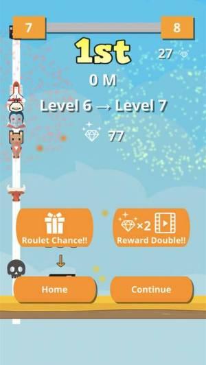 iPhone、iPadアプリ「Bump Jump Race」のスクリーンショット 3枚目