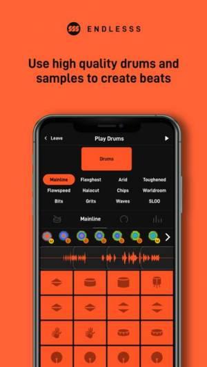 iPhone、iPadアプリ「Endlesss - Multiplayer Music」のスクリーンショット 3枚目