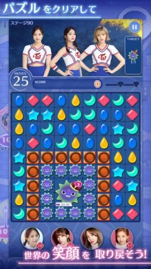 iPhone、iPadアプリ「TWICE -GO! GO! Fightin'-」のスクリーンショット 2枚目