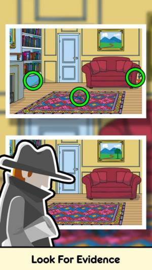 iPhone、iPadアプリ「Find Differences: Detective」のスクリーンショット 3枚目