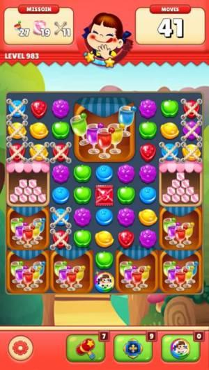 iPhone、iPadアプリ「ミルキーマッチ:ペコちゃんパズルゲーム」のスクリーンショット 5枚目