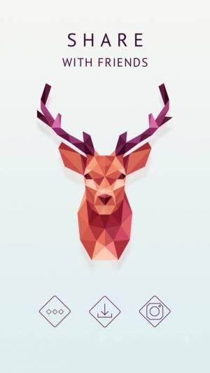 iPhone、iPadアプリ「Polysphere - art of puzzle」のスクリーンショット 5枚目