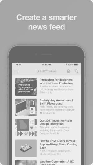 iPhone、iPadアプリ「Feedly Classic」のスクリーンショット 5枚目