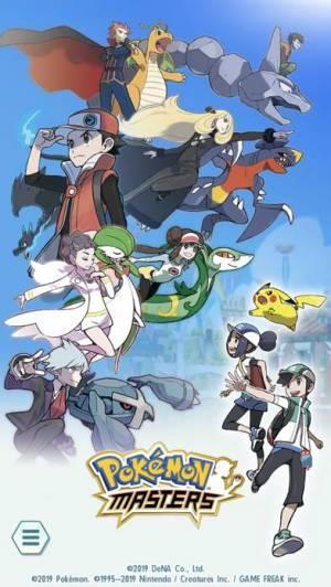 iPhone、iPadアプリ「Pokémon Masters」のスクリーンショット 1枚目
