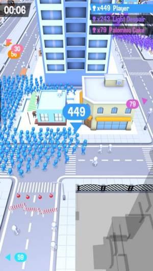 iPhone、iPadアプリ「群衆都市」のスクリーンショット 4枚目