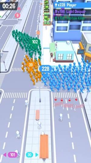 iPhone、iPadアプリ「Crowd City」のスクリーンショット 1枚目