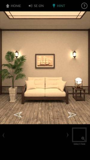 iPhone、iPadアプリ「脱出ゲーム The TREASURE」のスクリーンショット 2枚目