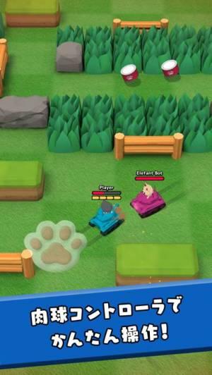 iPhone、iPadアプリ「ねこ戦車」のスクリーンショット 1枚目