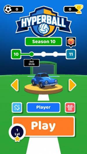 iPhone、iPadアプリ「Hyperball」のスクリーンショット 1枚目