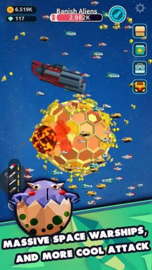 iPhone、iPadアプリ「Planet Overlord」のスクリーンショット 3枚目