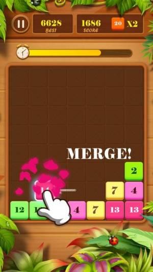 iPhone、iPadアプリ「ドラッグンマージ(Drag n Merge)」のスクリーンショット 4枚目