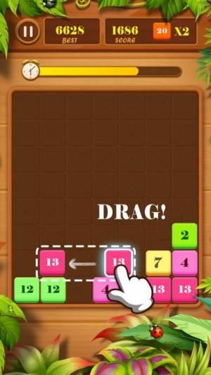 iPhone、iPadアプリ「ドラッグンマージ(Drag n Merge)」のスクリーンショット 3枚目