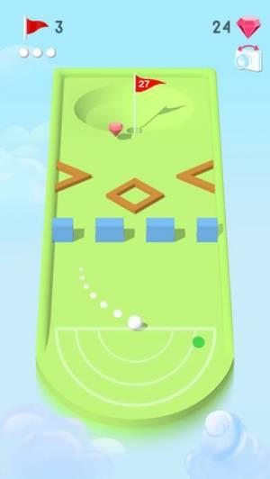 iPhone、iPadアプリ「Pocket Mini Golf」のスクリーンショット 3枚目