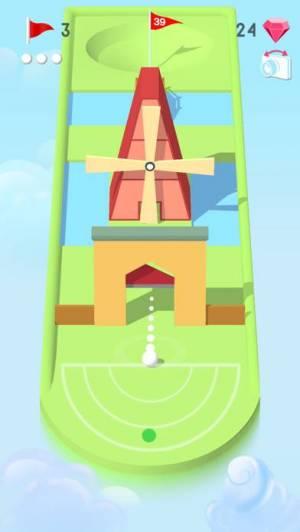iPhone、iPadアプリ「Pocket Mini Golf」のスクリーンショット 4枚目