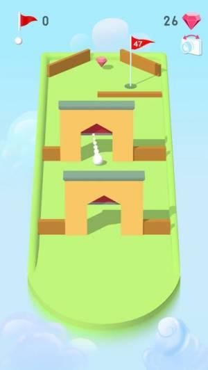 iPhone、iPadアプリ「Pocket Mini Golf」のスクリーンショット 5枚目