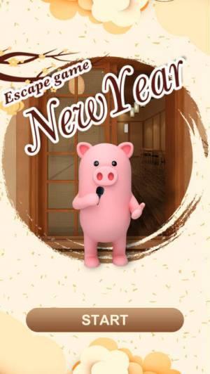 iPhone、iPadアプリ「脱出ゲーム-New Year年越し蕎麦」のスクリーンショット 1枚目