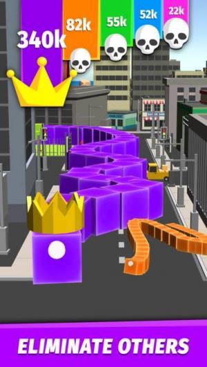iPhone、iPadアプリ「Boas.io Snake vs City」のスクリーンショット 4枚目