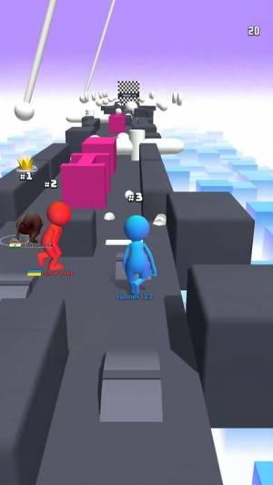 iPhone、iPadアプリ「Human Runner 3D」のスクリーンショット 4枚目