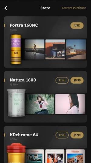 iPhone、iPadアプリ「FIMO - Analog Camera」のスクリーンショット 2枚目