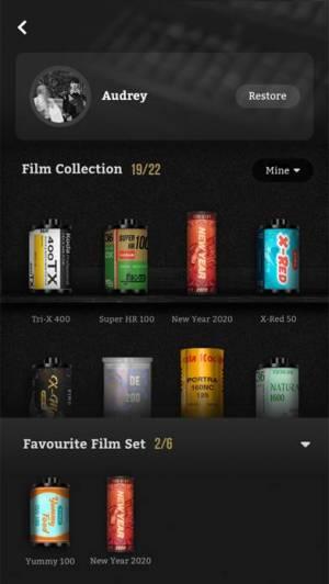 iPhone、iPadアプリ「FIMOレトロフィルムカメラ」のスクリーンショット 2枚目