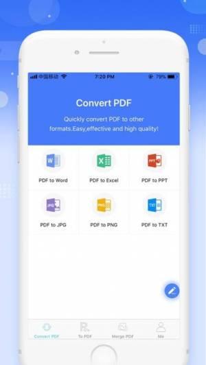 iPhone、iPadアプリ「Apowersoft PDFコンバーター」のスクリーンショット 1枚目