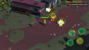 iPhone、iPadアプリ「Zombie Blast Crew」のスクリーンショット 1枚目