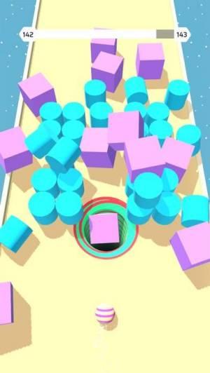 iPhone、iPadアプリ「Hollo Ball」のスクリーンショット 1枚目