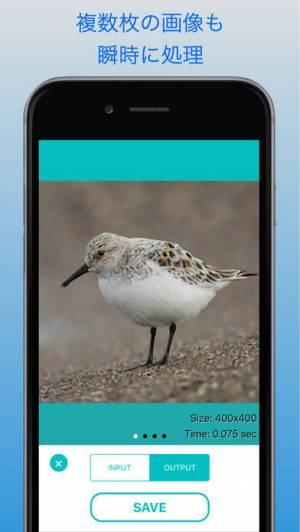 iPhone、iPadアプリ「Falper SR - 画像を一瞬で綺麗に高画質化」のスクリーンショット 2枚目
