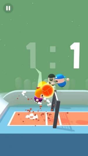 iPhone、iPadアプリ「Volley Beans」のスクリーンショット 2枚目