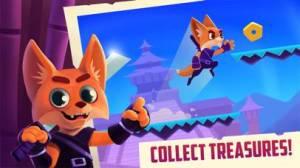 iPhone、iPadアプリ「Don't stop, Fox! - 走って、キツネ!」のスクリーンショット 2枚目