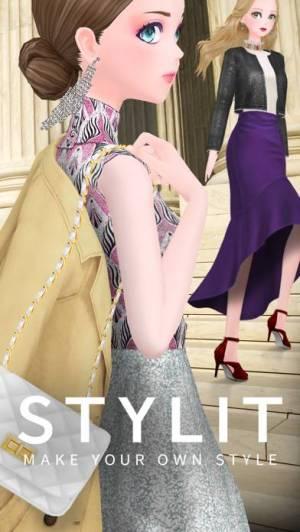 iPhone、iPadアプリ「スタイリット‐ファッションコーデゲーム」のスクリーンショット 1枚目