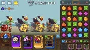 iPhone、iPadアプリ「パズル&ディフェンス:Match 3 Battle」のスクリーンショット 3枚目