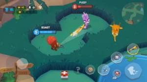 iPhone、iPadアプリ「バトルモン: どうぶつバトルロイヤルゲーム」のスクリーンショット 5枚目