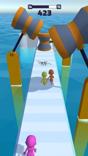 iPhone、iPadアプリ「Fun Race 3D」のスクリーンショット 4枚目