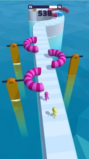 iPhone、iPadアプリ「Fun Race 3D」のスクリーンショット 5枚目