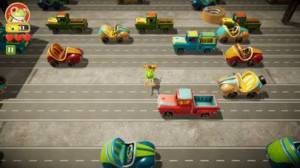 iPhone、iPadアプリ「Frogger in Toy Town」のスクリーンショット 2枚目