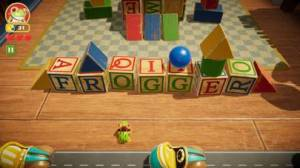 iPhone、iPadアプリ「Frogger in Toy Town」のスクリーンショット 1枚目