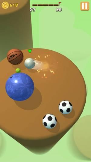 iPhone、iPadアプリ「Ball Action」のスクリーンショット 3枚目