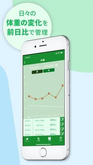 iPhone、iPadアプリ「本気の歩数計-からだより-」のスクリーンショット 2枚目