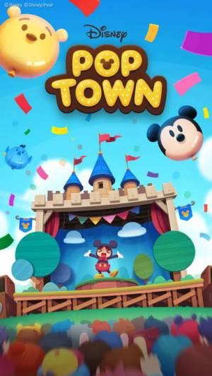 iPhone、iPadアプリ「ディズニー ポップタウン」のスクリーンショット 1枚目