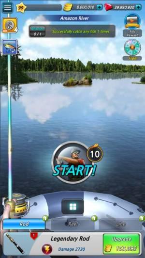 iPhone、iPadアプリ「Fishing Season:River To Ocean」のスクリーンショット 2枚目