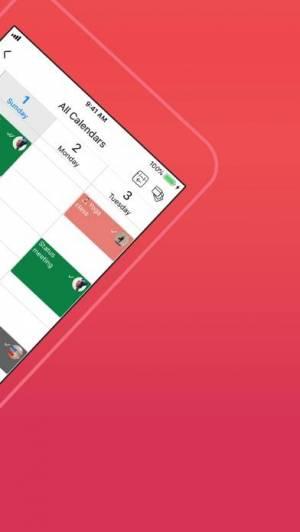 iPhone、iPadアプリ「GroupCal-共有カレンダー」のスクリーンショット 2枚目